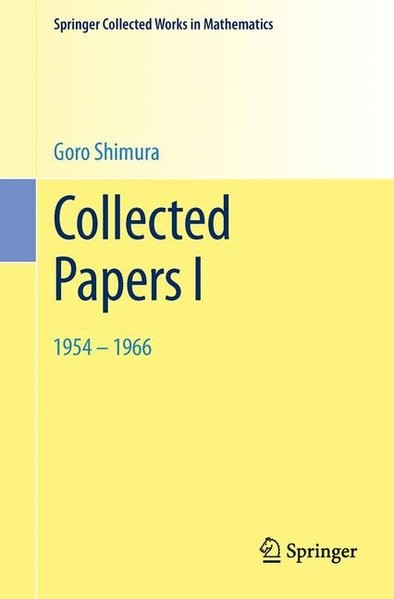 Abbildung von Shimura   Collected Papers I   2002