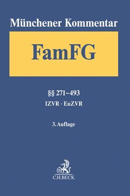 Abbildung von Münchener Kommentar zum FamFG, Band 2: §§ 271-493, IZVR, EuZVR | 3. Auflage | 2019 | Gesetz über das Verfahren in F...
