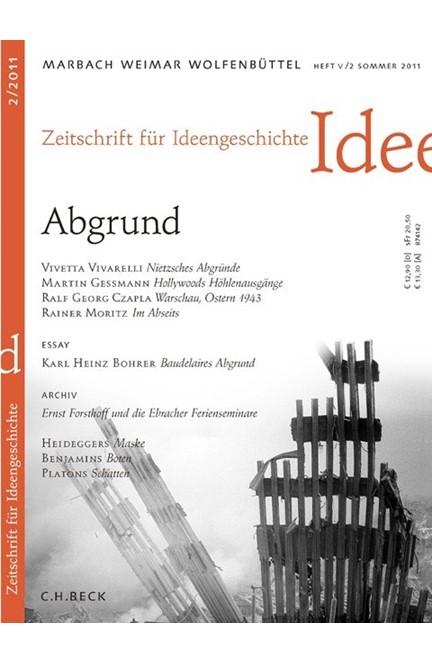 Cover: , Zeitschrift für Ideengeschichte Heft V/2 Sommer 2011