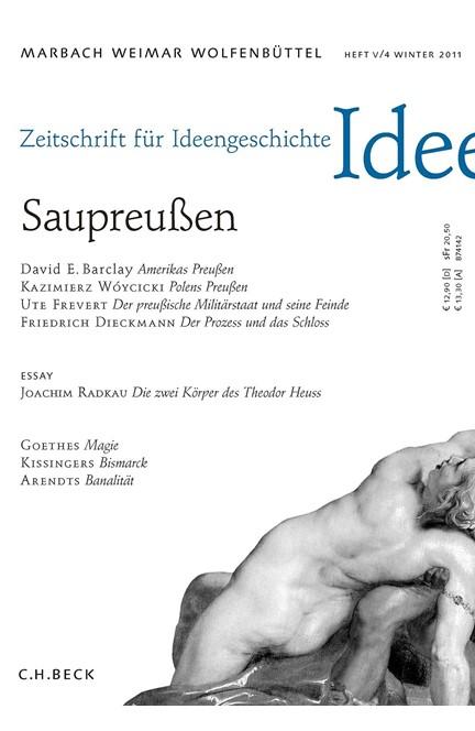 Cover: , Zeitschrift für Ideengeschichte Heft V/4 Winter 2011