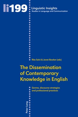 Abbildung von Salvi / Bowker | The Dissemination of Contemporary Knowledge in English | 2015 | Genres, Discourse Strategies a... | 199
