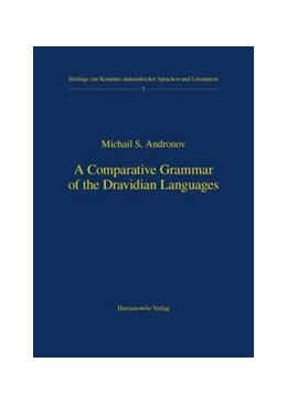 Abbildung von Andronov | A Comparative Grammar of the Dravidian Languages | 2003 | 7