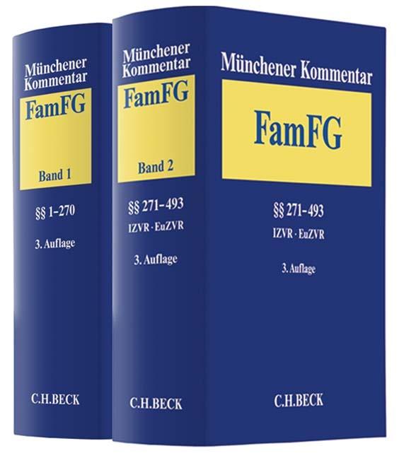 Abbildung von Münchener Kommentar zum FamFG | 3. Auflage | 2019