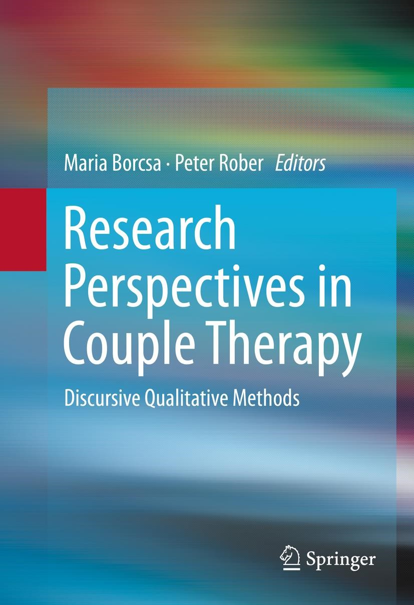 Research Perspectives in Couple Therapy | Borcsa / Rober | 1st ed. 2016, 2015 | Buch (Cover)