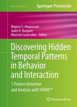 Abbildung von Magnusson / Burgoon   Discovering Hidden Temporal Patterns in Behavior and Interaction   1. Auflage   2016   111   beck-shop.de