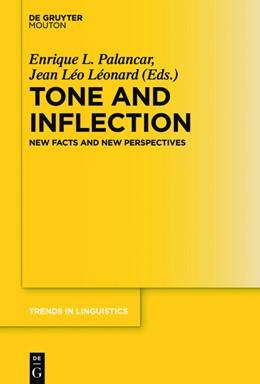 Abbildung von Palancar / Léonard | Tone and Inflection | 1. Auflage | 2016 | beck-shop.de