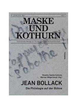 Abbildung von Saetta Cottone / Wögerbauer | Jean Bollack | 1. Auflage | 2015 | 59/4 | beck-shop.de