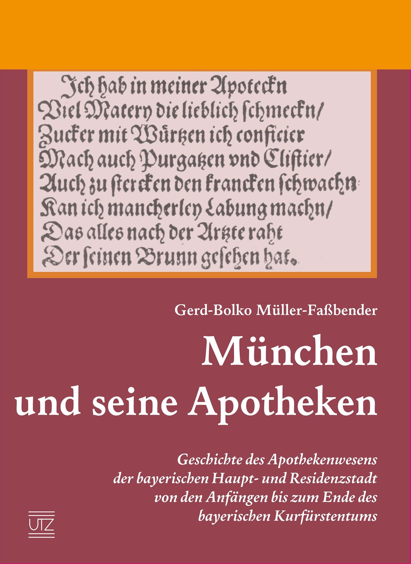 München und seine Apotheken | Müller-Faßbender, 2015 | Buch (Cover)