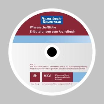 Arzneibuch-Kommentar CD-ROM VOL 50 | Bracher / Heisig / Langguth / Mutschler / Rücker / Schirmeister / Scriba / Stahl-Biskup / Troschütz, 2015 (Cover)