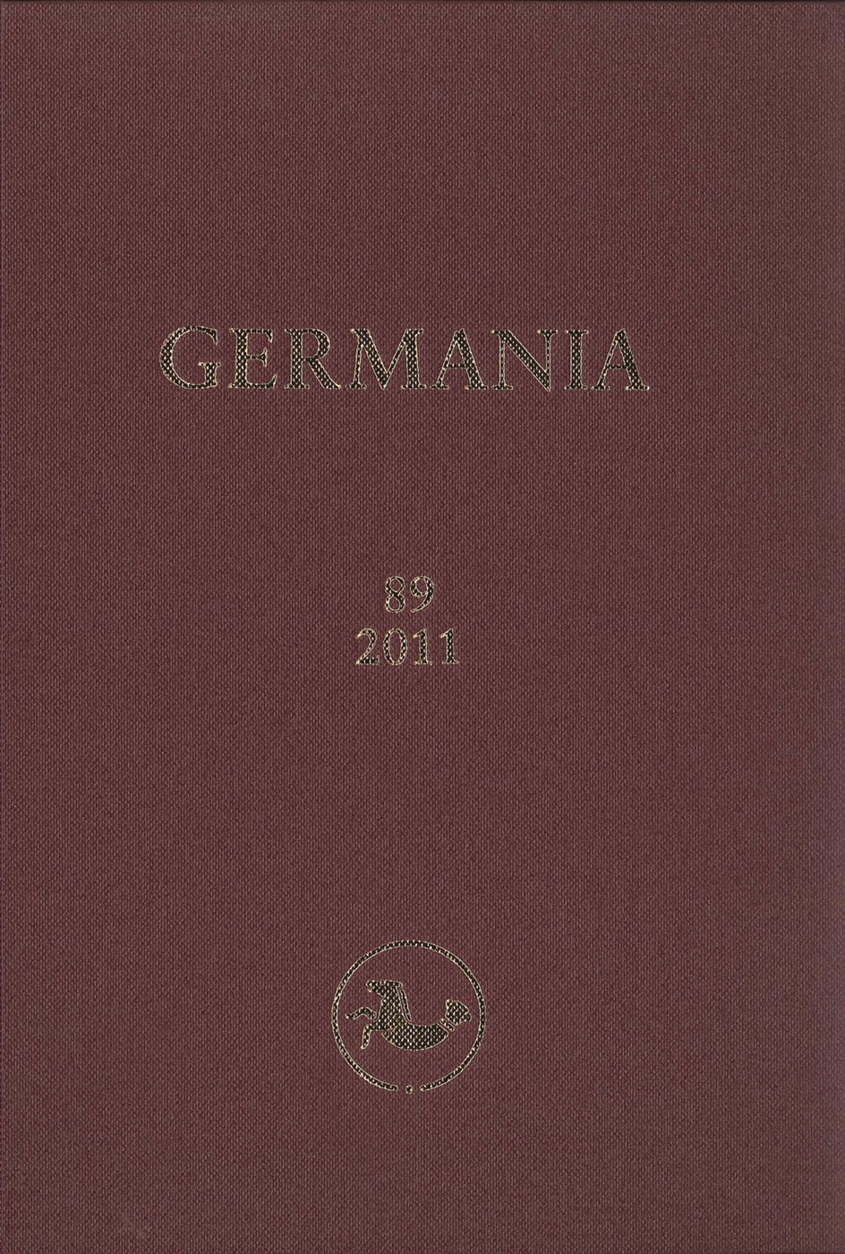 Germania, 2014 | Buch (Cover)