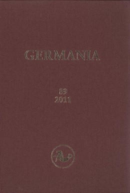 Abbildung von Germania | 2014 | Jahrgang 89, 2011, 1.-2. Halbb... | 89/2011, 1.+2.