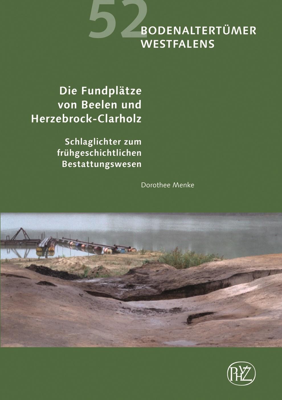 Abbildung von Menke   Die Fundplätze von Beelen und Herzebrock-Clarholz   2014