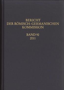 Abbildung von Bericht der Römisch-Germanischen Kommission | 2015 | 92/2011