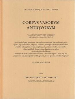 Abbildung von Matheson / Barry | Corpus Vasorum Antiquorum | 2016 | Yale University Art Gallery. F... | 39
