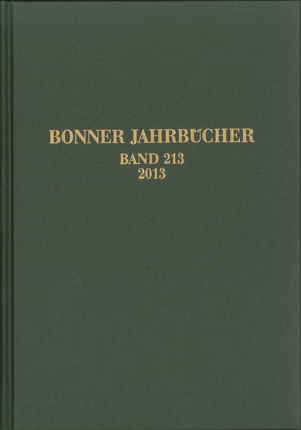 Abbildung von Bonner Jahrbücher | 2015