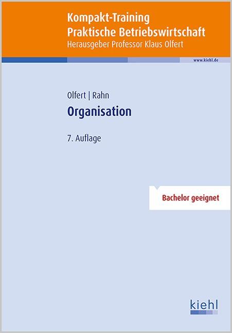 Abbildung von Olfert / Rahn   Kompakt-Training Organisation   7., aktualisierte Auflage   2015