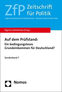 Abbildung von Osterkamp | Auf dem Prüfstand: | 1. Auflage | 2015 | 7 | beck-shop.de