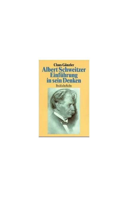 Cover: Claus Günzler, Albert Schweitzer