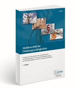 Abbildung von Wieser | Melderechtliche Ordnungswidrigkeiten | 2015 | Handbuch für Bedienstete der M...