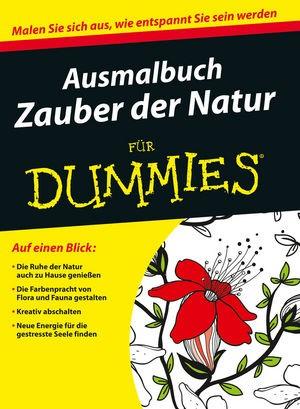 Abbildung von Ausmalbuch Zauber der Natur für Dummies   2015