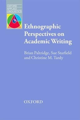 Abbildung von Paltridge / Starfield   Ethnographic Perspectives on Academic Writing   1. Auflage   2016   beck-shop.de