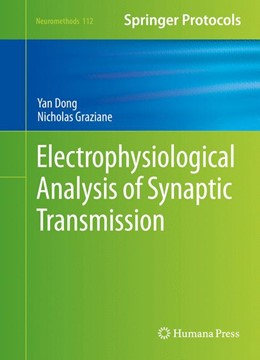 Abbildung von Dong / Graziane | Electrophysiological Analysis of Synaptic Transmission | 1st ed. 2016 | 2015 | 112