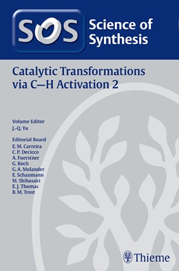 Abbildung von Yu | Science of Synthesis: Catalytic Transformations via C-H Activation Vol. 2 | 2015
