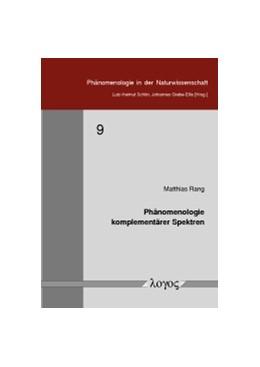 Abbildung von Rang   Phänomenologie komplementärer Spektren   1. Auflage   2015   9   beck-shop.de