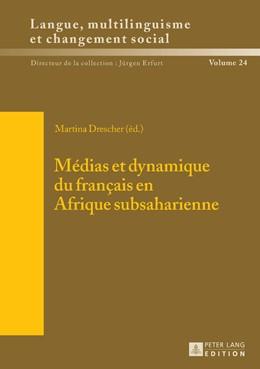 Abbildung von Drescher | Médias et dynamique du français en Afrique subsaharienne | 2015 | 24