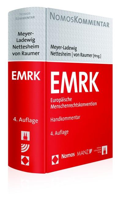 EMRK Europäische Menschenrechtskonvention | Meyer-Ladewig / Nettesheim / von Raumer (Hrsg.) | Buch (Cover)