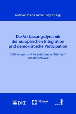Abbildung von Glaser / Langer   Die Verfassungsdynamik der europäischen Integration und demokratische Partizipation   2015