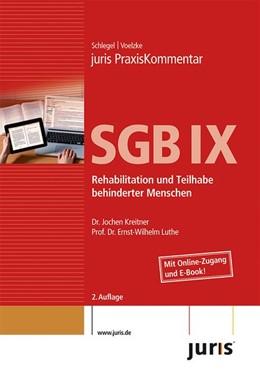 Abbildung von PraxisKommentar SGB IX - Rehabilitation und Teilhabe behinderter Menschen | 2., Auflage | 2015