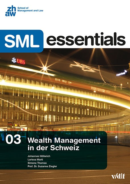 Wealth Management in der Schweiz | / Höllerich / Marti, 2015 | Buch (Cover)