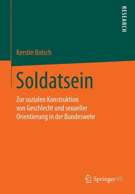 Soldatsein | Botsch, 2015 | Buch (Cover)