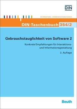 Abbildung von Gebrauchstauglichkeit von Software 2 | 2018 | Konkrete Empfehlungen für Inte... | 354/2