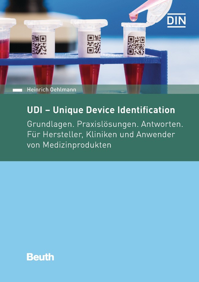 UDI - Unique Device Identification | Oehlmann, 2017 | Buch (Cover)