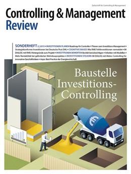 Abbildung von Schäffer / Weber | Controlling & Management Review Sonderheft 2-2015 | 2015 | Baustelle Investitions-Control...
