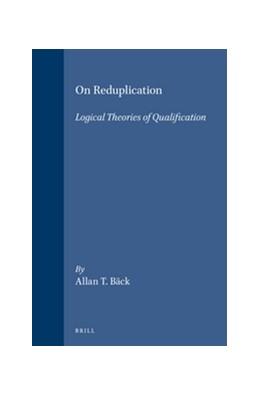 Abbildung von Bäck   On Reduplication   1996