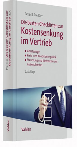 Abbildung von Preißler | Die besten Checklisten zur Kostensenkung im Vertrieb | 2. Auflage | 2016 | beck-shop.de