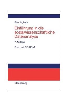 Abbildung von Benninghaus | Einführung in die sozialwissenschaftliche Datenanalyse | 7., unwesentlich veränderte Aufl | 2014