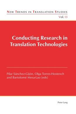 Abbildung von Sánchez-Gijón / Torres-Hostench / Mesa-Lao | Conducting Research in Translation Technologies | 2015 | 13