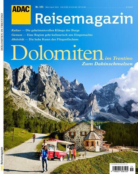 Abbildung von ADAC Reisemagazin Dolomiten in Trentino   2016
