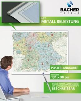 Abbildung von Deutschland Süd ORGA 1 : 500.000 Posterkarte | 2013