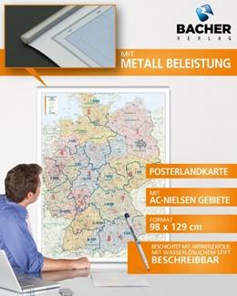 Abbildung von Deutschland PLZ 1:700.000 Posterkarte | aktualisierte Auflage ohne Jahr | 2013