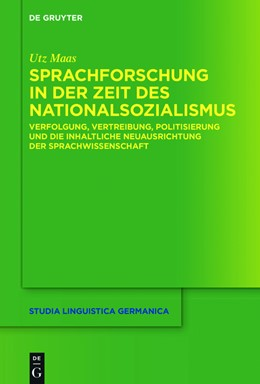 Abbildung von Maas | Sprachforschung in der Zeit des Nationalsozialismus | 1. Auflage | 2016 | 124 | beck-shop.de