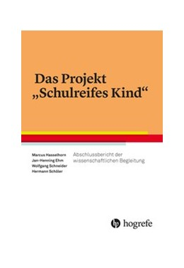 Abbildung von Hasselhorn / Ehm | Das Projekt