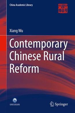 Abbildung von Wu | Contemporary Chinese Rural Reform | 1st ed. 2016 | 2016