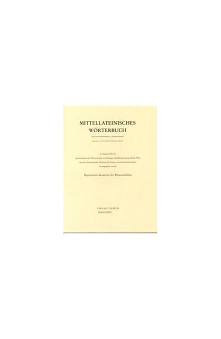 Cover: , Mittellateinisches Wörterbuch: Band 1: 1. Lieferung (a-adcumen)