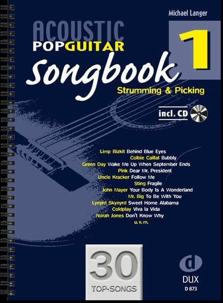 Acoustic Pop Guitar Songbook, 2009 | Buch (Cover)