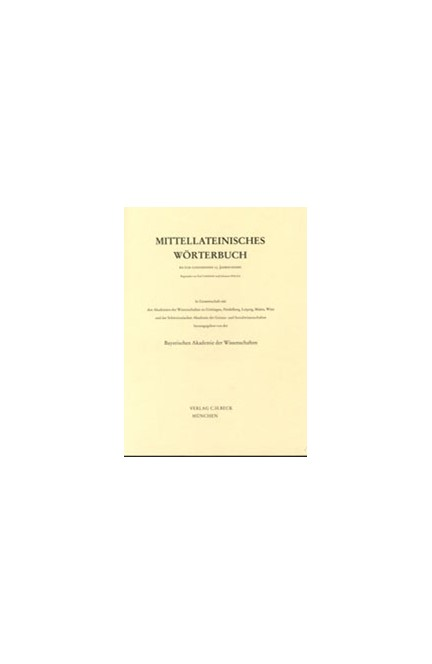 Cover: , Mittellateinisches Wörterbuch: Band 1: 7. Lieferung (armarius-aszelon)